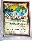Raw Organic Dried Noni Fruit Wrap-2 ozs. 30 Day Supply