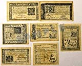 Colonial Banknote Set A