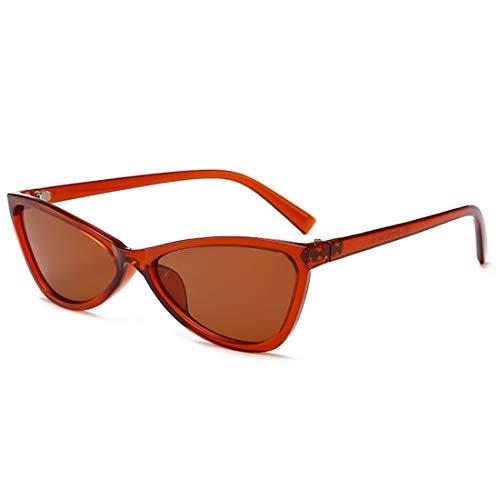 Eye Full Retro Couleur Soleil Frame Hinge Cat Unisexe Bonbons Yefree Sunglasses Femmes De Lunettes Thé Verres S0qTPRIx