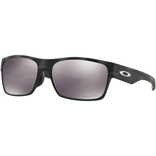 Oakley Men's Twoface (a) Rectangular Sunglasses, Black Camo, 60.5 - Sunglasses Camouflage Oakley