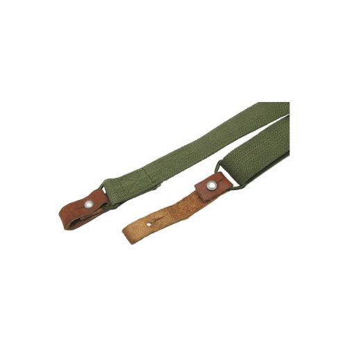 Ultimate Arms Gear Two 1'' Inch Slot Loop Wood Screws Swivels with Spacers + Traditional Canvas Sling, OD Olive Drab Green Ruger 1022 10/22 10-22 Mini-14 SR556 SR22 Rifle by Ultimate Arms Gear (Image #7)