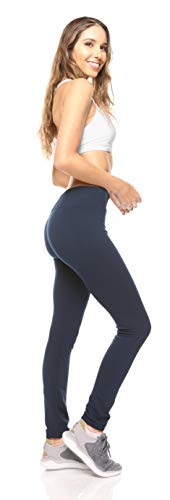 6-Pack: Women's Free to Live Seamless Fleece Lined Leggings - Assorted Colors