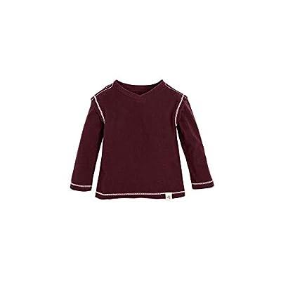 Burt's Bees Baby - Baby Boys T-Shirt, Long Sleeve V-Neck and Crewneck Tees, 100% Organic Cotton