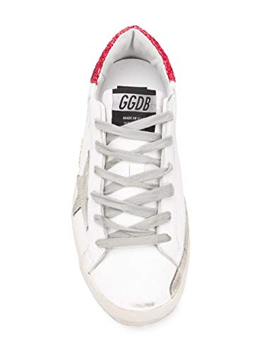 Bianco Goose Donna G34ws590m48 Golden Sneakers Pelle aXq44n