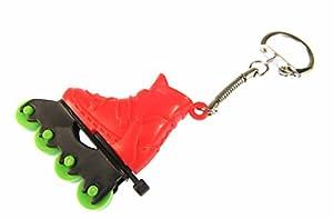 Rollerblades Rollschuhe Inlineskates Schlüsselanhänger Miniblings Anhänger rot