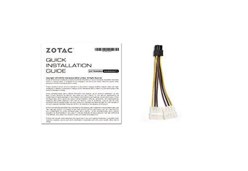 ZOTAC GeForce GTX 1060 AMP Edition, ZT-P10600B-10M, 6GB