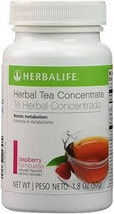 Herbalife Herbal Tea Concentrate 1.8oz - Raspberry Flavor - A Low-Calorie Blend of Black Tea Orange Pekoe and Green Tea for Antioxidant Support