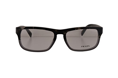Prada PR07PV Eyeglasses 54-17-140 Spotted Black On Matte Grey w/Demo Clear Lens RO31O1 VPR07P (NO BOX & NO - Sale Sunglasses Prada On