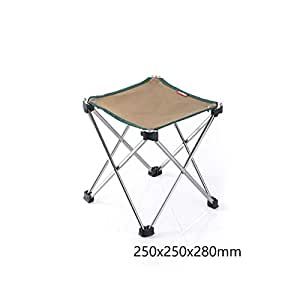 Amazon.com: Taburete de camping, portátil, plegable ...
