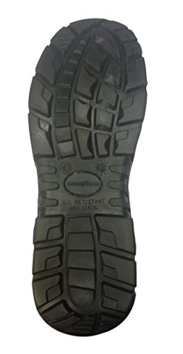 GOODYEAR Sicherheitsschuhe / Arbeitsschuhe S1P - SRC - / Sandale - Metallfrei gyshu8500 Schwarz Schwarz