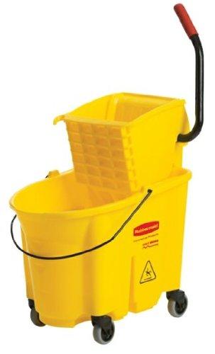 Rubbermaid Wringer Bucket 35 Qt Yellow
