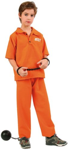 Not Guilty Prisoner Boy Kids Costume