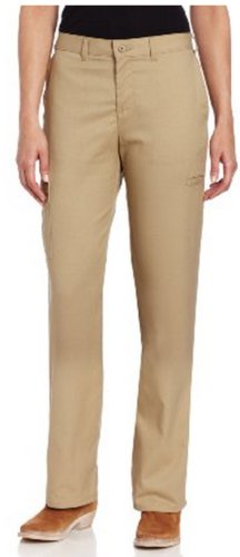 Dickies Women's Premium Relaxed Straight Cargo Pants,Khaki,6/Regular ()