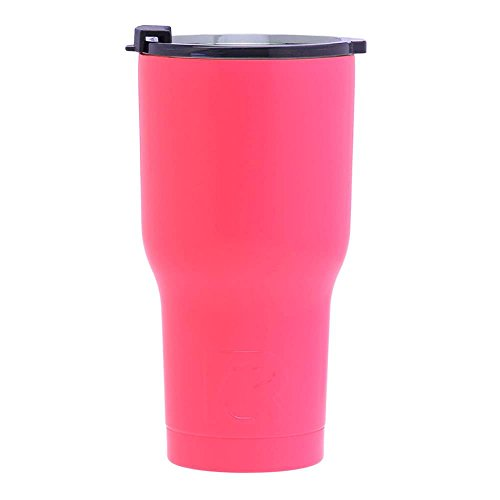 Pink Tumbler - RTIC Double Wall Vacuum Insulated Tumbler,