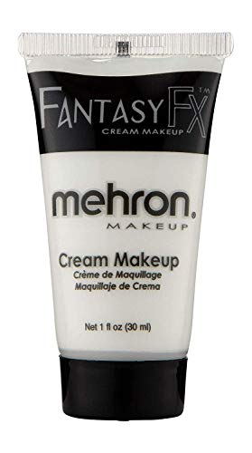 Halloween Face Paint Man Easy (Mehron Makeup Fantasy F/X Water Based Face & Body Paint (1 Ounce))