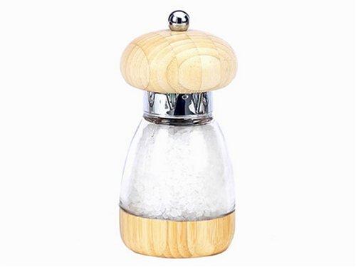 William Bounds Mushroom Light Bamboo Salt Mill - Bounds Mushroom Salt