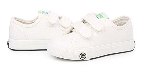 Sakuracan Fashion Sneaker for Boys Girls Canvas Velcro Running Sport Shoes (Toddler/Little Kid) by Sakuracan (Image #5)