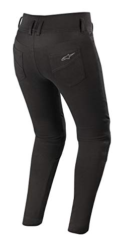 Banshee Women's Protective Motorcycle Leggings (Medium, Black) by Alpinestars (Image #1)