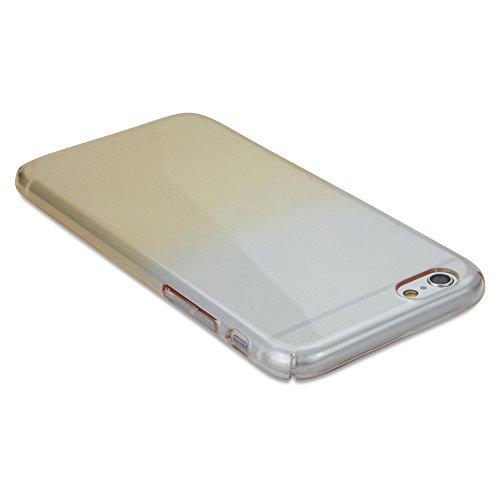 iPhone 6Plus Coque, BoxWave® [colorcrystal Étui] Coque fine, rigide Shell Housse Coque avec ombre dégradé pour Apple iPhone 6Plus, 6S Plus–Jaune citron