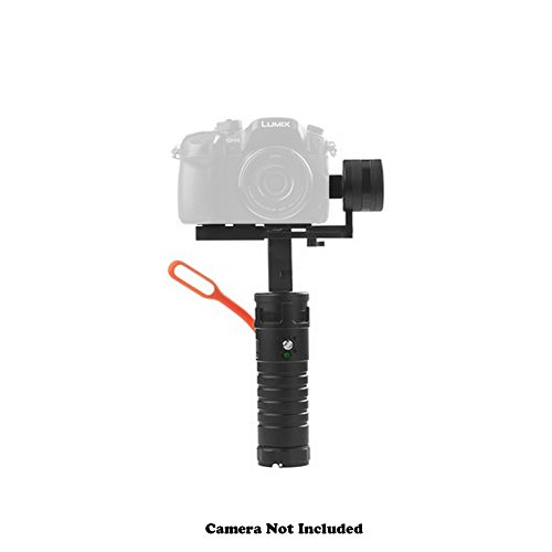 iKan Beholder MS1 3-Axis Motorized Gimbal Stabilizer for Mirrorless Cameras - Bundle With iKan Beholder Battery Set, Microfiber Cleaning Cloth by Ikan