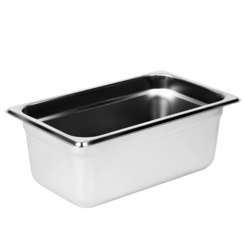 (Excellante Quarter Size 4-Inch Deep 24 Gauge Anti Jam Pans)