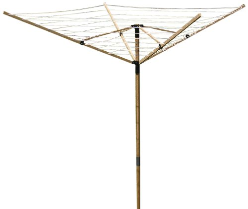 Greenway Deluxe Large Bamboo Fold Away Clothes Line