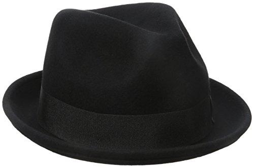 Black Fedora Hat For Kids (Goorin Bros. Men's Rude Boy Fedora, Black,)