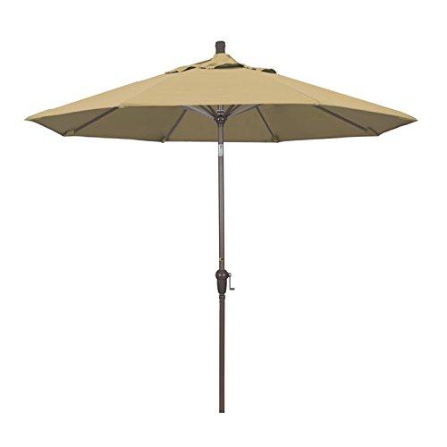 California Umbrella 9' Patio Umbrella in Champagne