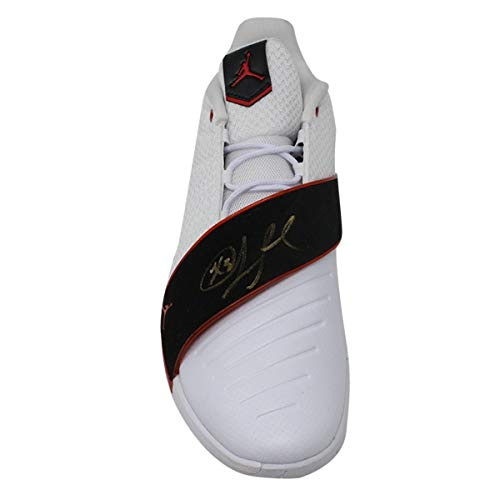 4c840a1dff87 Chris Paul Autographed Signed Jordan White Black Red Cp3.Xi Shoe  SingleAutographed Signed In Gold