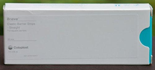 Brava Elastic - Coloplast 120740 Brava Elastic Barrier Strip for Square Barriers 20 per Box