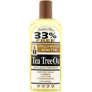 Hollywood Beauty Tea Tree Oil Skin & Scalp Treatment, 8 oz (Pack of 3)