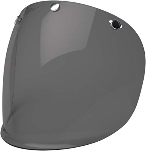 Bell 3-Snap Flat Shield , Dark Smoke