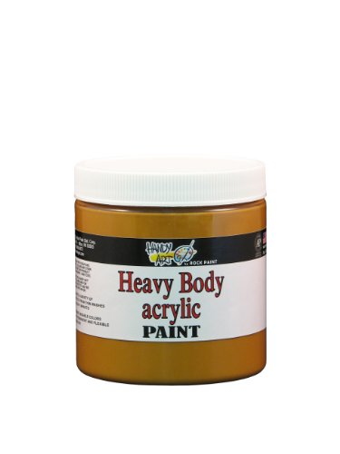 Handy Art Nu Master Heavy Body Acrylic Paint 8 ounce, Raw Sienna