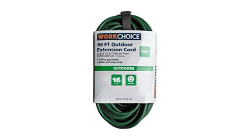 30 ft brown extension cord - 1