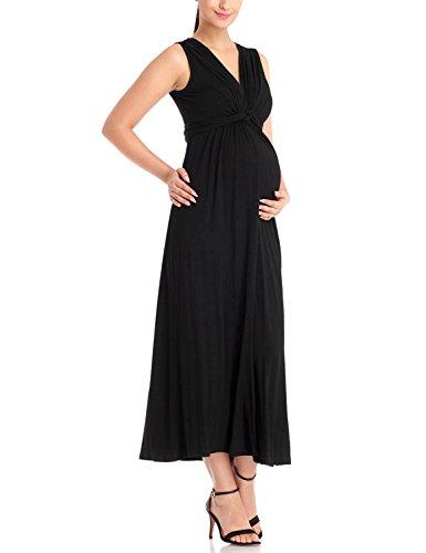 long black maxi dress size 22 - 9