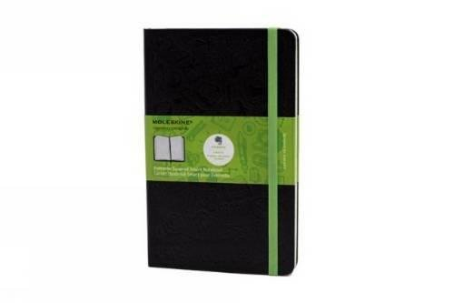Moleskine Evernote Smart Notebook, Large, Squared, Black, Hard Cover (5 x 8.25) (Evernote Smart Notebooks)