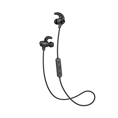 Edifier W280BT Stereo Bluetooth v4.1 Headphones - Earphones for Fitness, Running, Working Out Sweatproof - Black