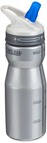 CamelBak Performance 22-Ounce Water Bottle, Silver (Bottle Performance 22 Ounce)
