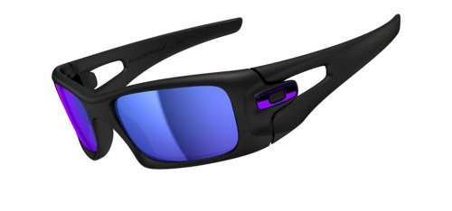 Amazon.com: Oakley Mens Crankcase OO9165-05 Iridium Square ...