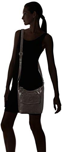 Sansibar Sansibar - Bolso de hombro Mujer Negro (Black)