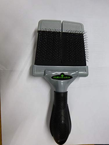 FURminator Firm Grooming Slicker Brush, Dog, - Pet Furminator Grooming