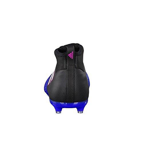 adidas Unisex-Kinder Ace 17.1 FG J Fußballschuhe Schwarz (Negbas/ftwbla/azul)