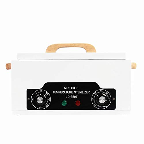 Nurth Portable Autoclave Sterilizer Nail pedicure tool scissors Towel Cabinet Warmer Cabinet Spa Hair Beauty Salon Equipment Scissor Drying With timing function wooden handle from Nurth