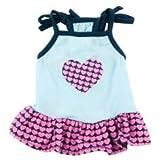 Top Paw Heart Tank Dog Dress~LARGE~
