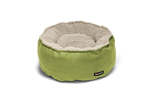 Big Shrimpy Catalina Plush Pet Bed for Cats and Small Dogs, Medium, Leaf by Big Shrimpy