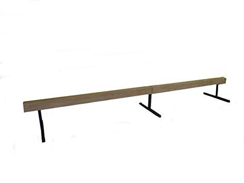 Gymnastic Wood Balance Beam 16ft Balance Beam (SECTIONAL) W/ 12