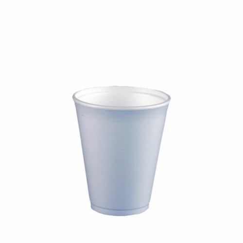 toGo f/ête-gobelets-gobelet Gobelet 600 x billes 0,2 l blanc-verres /à vin chaud-heissgetr/änkebecher jetable en polystyr/ène