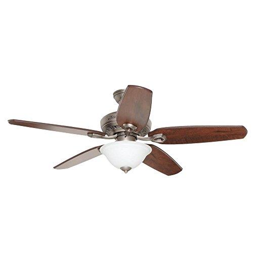 Hunter 53031 Fairhaven 52 in. Indoor Antique Pewter Ceiling Fan