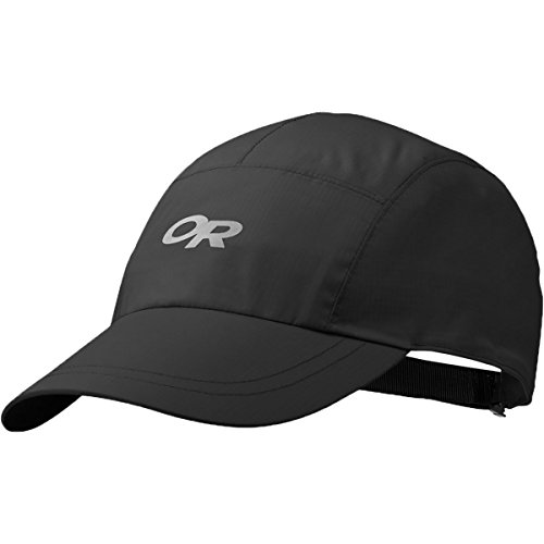 Outdoor Research Halo Rain Cap, Black, 1Size