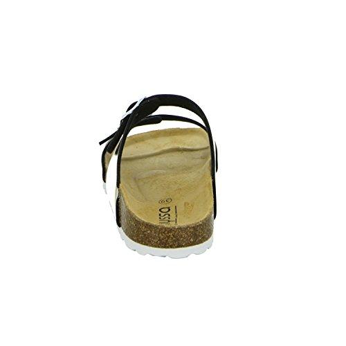 Alyssa 2632.30/28 Damen Bio Pantolette Braun (Gold)